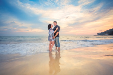 Honeymoon Couple photoshoot at phuket