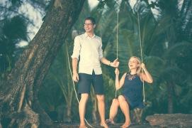 couple photo session at Khao lak phnannga thailand