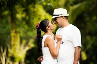 Honeymoon photo session at Anantara Layan Phuket