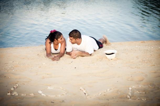 Honeymoon photo session at Anantara Layan Phuket